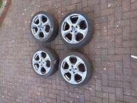 MK7 Ford Fiesta ST Alloy Wheels