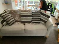3 Seater Sofa & Foot Stool
