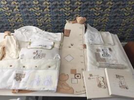 Mama &Papas Barnaby Button Bear Nursery Complete Set