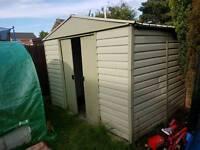 Yardmaster Metal Garden Shed 10 x 8