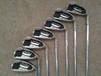 ** PING G20 4-PW IRONS REGULAR FREE PING PUTTER , NEW GRIPS EXCELLENT CONDITION GOLF **