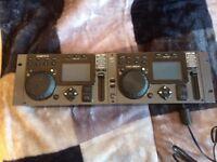 Cortex HDC 3000 TWIN MP3 Player