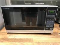SHARP SHR272SLM 800 watt microwave