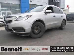 2014 Acura MDX Elite Package - Comes with 2 sets of Tires + Rims