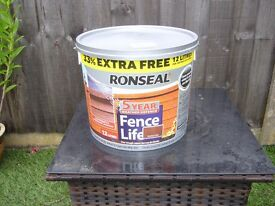 Ronseal Fence Life (5 year) wood treatment Medium Oak