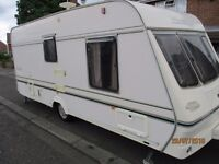 1998 LUNAR LX2000 502 .. 2 BERTH CARAVAN WITH PORCH AWNING & OTHER EXTRAS