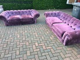 Barker & stonehouse chesterfield suite