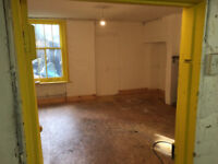 450+ sq ft Workshop Studio space to rent in central location. 24 hr access