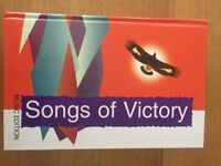 Songs of Victory Music Book New
