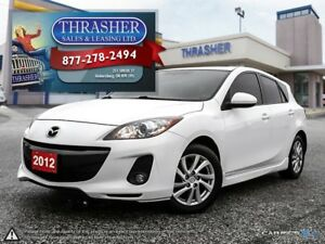 2012 Mazda MAZDA3 SKY, TOURING, LEATHER, SUNROOF, NAV!!!
