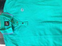 Ian Polter golf polo shirt M