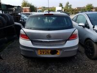 Vauxhall Astra 5 Rear Bumper in Silver 2006