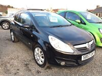 2007 VAUXHALL CORSA 1.3 cc DIESEL ONE YEAR MOT--TIMING BELT CHANGED