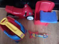 Toys for boy 10pounds