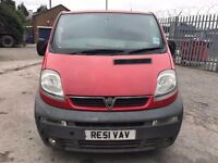 2001 Vauxhall Vivaro, starts and drives, MOT until March 2018, rough van hence price, trade sale, va