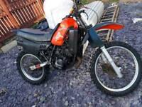 Mtx 125 dirt bike