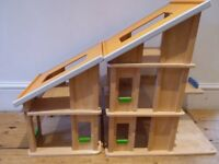 Plan Toys Dolls House with Furniture