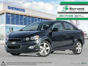 2016 Chevrolet Sonic LT Sunroof/Heated Seats/Alloys & Remote Sta