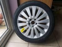 Passat wheel