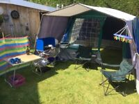 Traditional 4berth frame tent