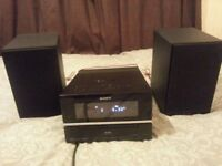 SONY HCD-BX70DBi CD MP3 Player DAB Radio iPod dock