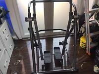 Cross trainer great for training at home