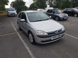 03 plate vauxhall Corsa with full 12 months M. O. T.