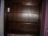 Assortment of carved furniture - will split