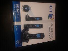 Bt home phone 3 handsets