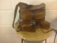 Vintage camera set.