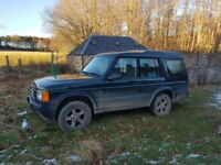 '02 LR Discovery 2.5td - non-runner - Includes roof rack & dog guard