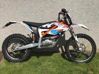 Ktm freeride electric trail bike