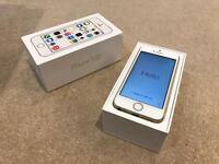 iPhone 5S 32GB Gold Unlocked with Original Box