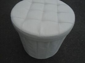 SEAT/STORAGE POUFFE at Haven Trust's charity shop 247 Radford Road, NG7 5GU