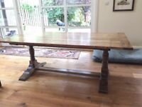 Stunning Antique Oak Dining Table