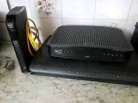Virgin media broadband router and 500mb TiVo box