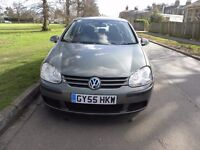 VW Golf TDI SE 5 Door Hatchback Diesel 1900CC Manual 2005 Mileage 123,000 Full service history