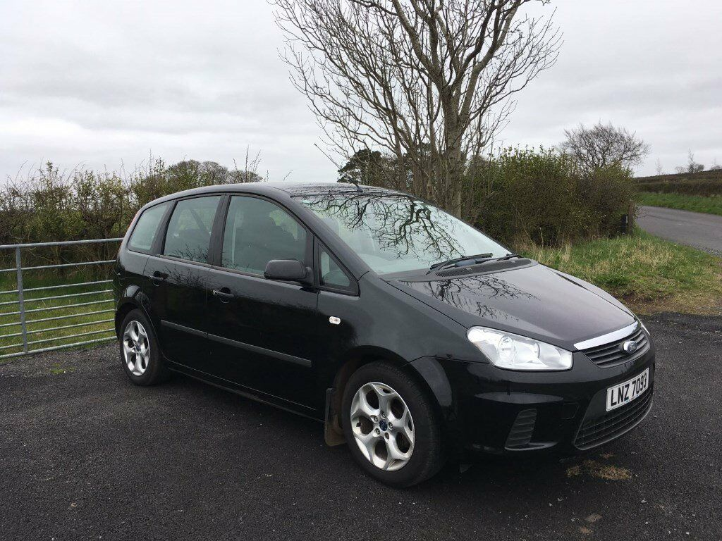 2007 ford c max 1 6 tdci panther black turbo diesel mot. Black Bedroom Furniture Sets. Home Design Ideas