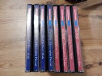 Eragon and Eldest audio CD box sets. Excellent condition.