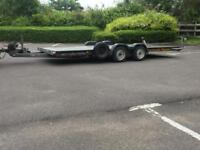 Brian James A max car Transporter trailer 2.6T recovery race car no vat !!