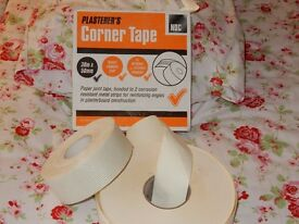 Plasterer's tapes - £8