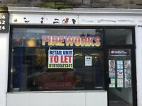 RETAIL UNIT TO LET ONLY £150PW EX BEAUTY SALOON 500 SQ FT MAIN ROAD LOCATION WEST LOTHIAN