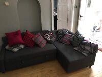 Fantastic condition, modern, Grey Sofa Bed