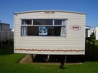 3 bedroom static holiday caravan for sale on the east Yorkshire coast