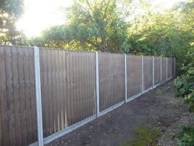 Quality Domestic fencing close board, feather edge, lap panel ,post &rail ,Gates in Norwich