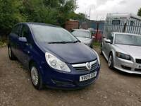 09 PLATE VAUXHALL CORSA. 1.3 CDTI TURBO DIESEL. PX WELCOME