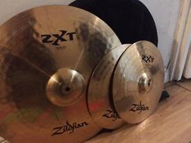 Zildjian ZXT cymbals