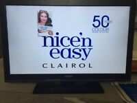 """Digihome 32"""" Full HD LED tv with built in freeview"""