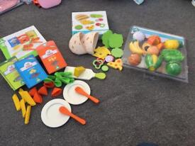 Early learning centre play food. Boxed
