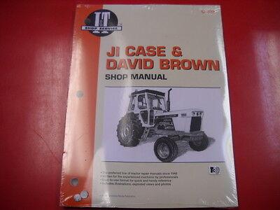 Case David Brown Tractor It Shop Service Manual 770 870 885 980 990 995 C203